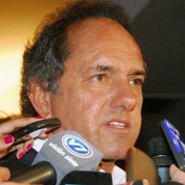 Cruces entre Scioli y el Frente Renovador tras el pronóstico pesimista de Massa sobre el 2014