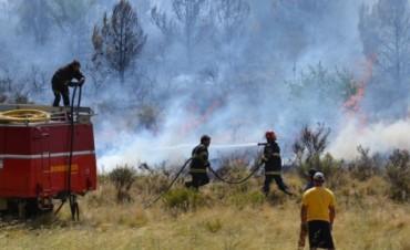 Históricamente, el incendio más importante de la Provincia