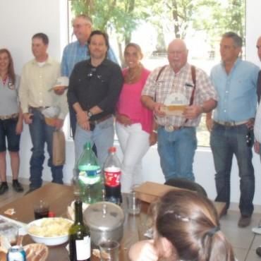 Cabañeros norteamericanos visitaron Olavarría