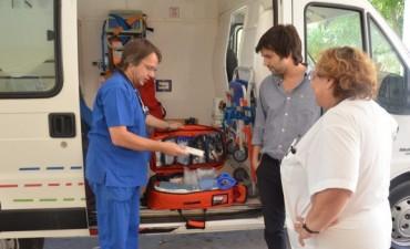 El Municipio adquirió equipamiento para ambulancias de Olavarría y las localidades