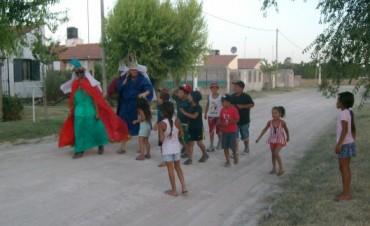Festejo por el Día de Reyes: juegos, música y sorpresas en el Barrio Trabajadores