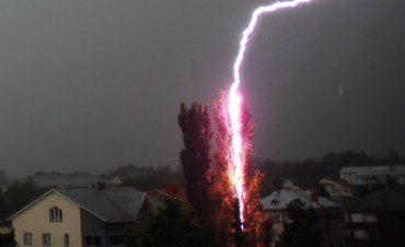 Consejos del Servicio Meteorológico ante tormentas eléctricas
