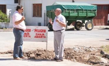 Finaliza la obra de cloacas en el Barrio Luján