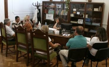 La Jefa de Gabinete se reunió con los Delegados Municipales