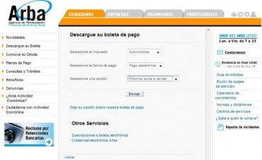Patentes automotores: es irregular la llegada de las boletas y ya está en marcha el cronograma de pagos