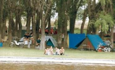 Colonia San Miguel preparada para la Fiesta del Camping