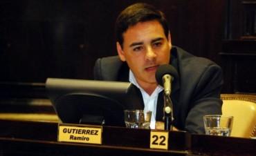 """Gutiérrez: """"Con la policía comunal no queremos perder más tiempo"""""""
