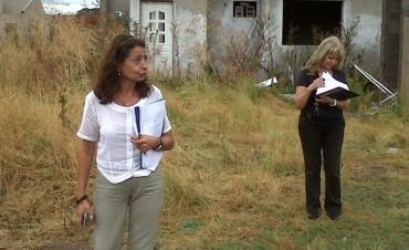 Barrio Pikelado: Julio Frías recibió a técnicos del Instituto de la Vivienda de la Provincia de Buenos Aires
