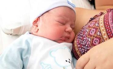El primer bebé del año se llama Benjamín