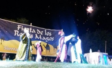 Los Reyes Magos llegaron a Sierras Bayas