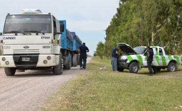 Se detectó otro camión con más de 14 mil kilos de sobrecarga