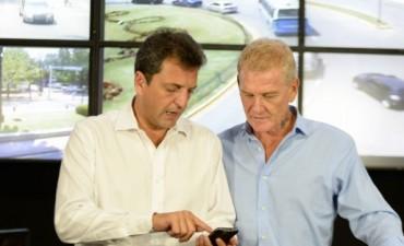 Massa y De Narváez firmaron el 'Acuerdo de Compromisos Básicos'