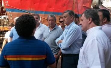 Duclós compartió actividades con Binner y  Cobos
