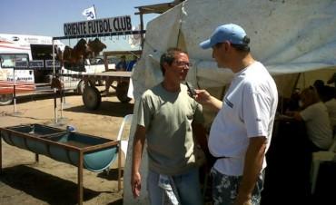 Radio Olavarría en el Concurso de Pesca de Marisol