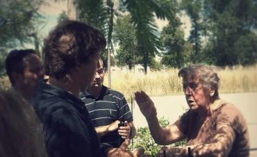"""Guillermo Santellán visitó el barrio """"la candela"""""""