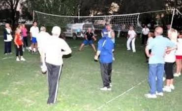 Se realizó el 1º Torneo de Voley Adaptado en la Base Bonino