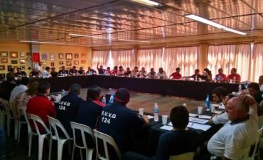 Bomberos de toda la Provincia se reúnen en Olavarría
