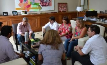 José Eseverri se reunió con dirigentes de Chascomús y Coronel Suárez