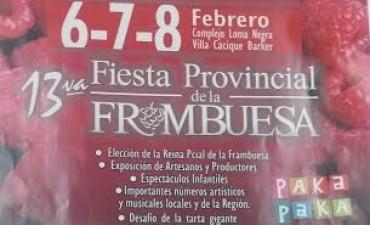 Nueva edición de la Fiesta Provincial de la Frambuesa