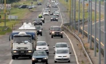 Turismo: se advierte intenso movimiento en rutas