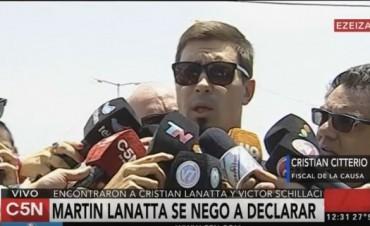Martín Lanatta se negó a declarar ante Citterio