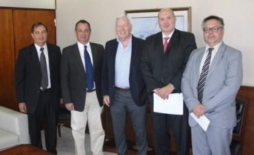 Celillo mantuvo reunión con el Ministro de Justicia y el titular del Servicio Penitenciario