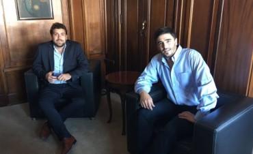 El Intendente Ezequiel Galli realizó gestiones en el Ministerio del Interior