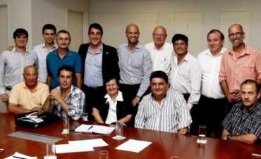 Rutas: la UDUV se reunió con autoridades de Vialidad