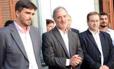 Galli participó de la asunción del Dr. Clavero en la Región Sanitaria IX