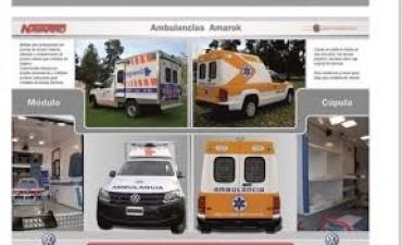 La Municipalidad incorporará una nueva ambulancia de Alta Complejidad