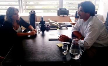 Lordén se reunió con el Ministro de Agroindustria Leonardo Sarquís