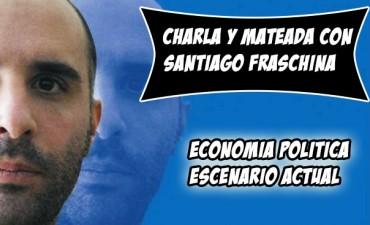 Santiago Fraschina brindará una charla abierta