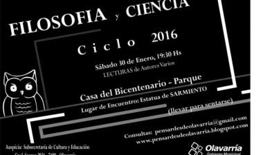 Ciclo 2016 de Filosofía y Ciencia