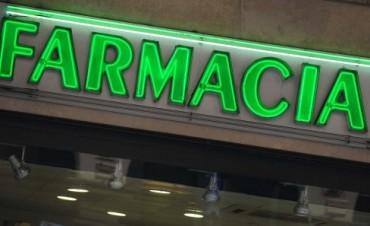 Farmacias de turno para este domingo 1 y lunes 2 de enero