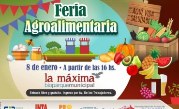Primera Feria agroalimentaria en Olavarría