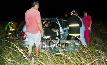 Olavarrienses involucrados en un accidente en la Ruta 51