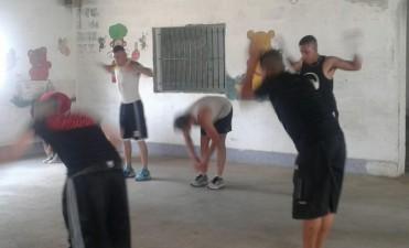 Primer encuentro de boxeo en la Unidad Nº2