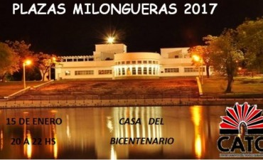 Vuelven las plazas Milongueras