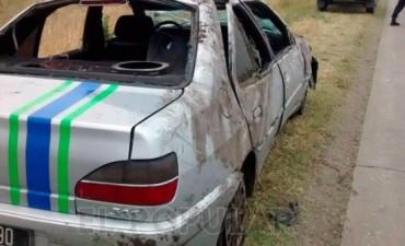 Dos menores acusados de robar un auto fueron atrapados