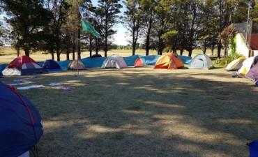 Campamento de los chicos de la colonia de vacaciones del Sindicato de Trabajadores Municipales