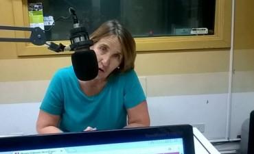 Ana 'Cheché' Irigoin habló de la variada activividad cultural  en Olavarría