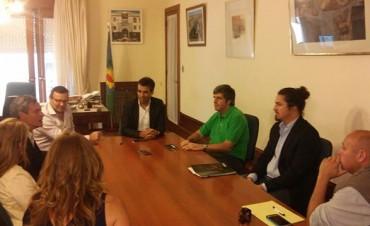 Olavarría integra una Mesa de cooperación bilateral internacional