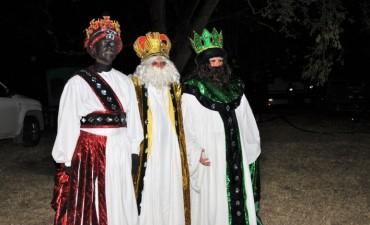 Llegaron los Reyes a Sierras Bayas