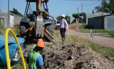 El Municipio avanza con la cobertura de la red de gas