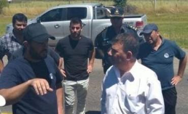 FANAZUL: se levantó el corte y la manifestación se trasladó al edificio de la municipalidad