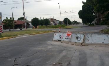 Avanzan las obras de construcción de mesetas en la ciudad