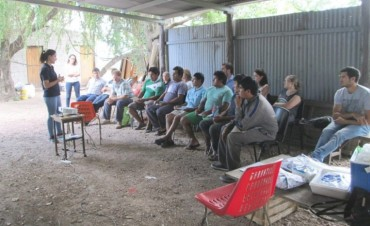 Jornada de capacitación en inocuidad y buenas prácticas agrícolas