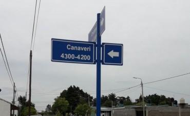 El Municipio realizó mejoras en la señalética urbana