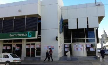 Bancarios del Provincia siguen con los reclamos