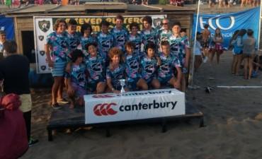 Rugby: Estudiantes campeón en Juveniles en el Seven de Claromecó